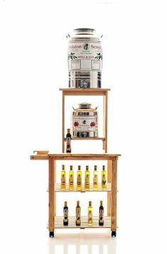 Ariston Refill and Save Program in Fusti.  Selling Extra Virgin Olive oil and Balsamic Vinegars this way since 1997!