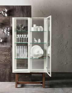 Lovely Ikea Glass Wall Cabinet