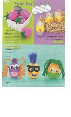 Plastic Egg Decoration - Family Fun