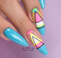 Stylish Nails, Trendy Nails, Cute Nails, Nail Design Stiletto, Stiletto Nails, Pointed Nails, Round Nails, Oval Nails, Easter Nails