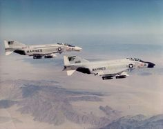 U.S. MARINE F-4 PHANTOM | The McDonnell Douglas F-4 Phantom II is an American tandem two-seat ...