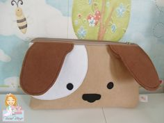 Dog Crafts, Felt Crafts, My Bags, Purses And Bags, Felt Bookmark, Operation Christmas Child, Cute Stationery, Girls Bags, Pencil Pouch