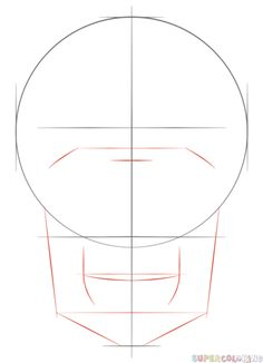 Drawing For Beginners How to draw a human skull step by step. Drawing tutorials for kids and beginners. Flower Drawing Tutorials, Drawing Tutorials For Beginners, Flower Drawings, Nose Drawing, Human Drawing, Face Proportions Drawing, Skull Sketch, Sketches Tutorial, Plant Drawing