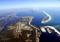 Great view of Naval Air Station, Pensacola, Florida .