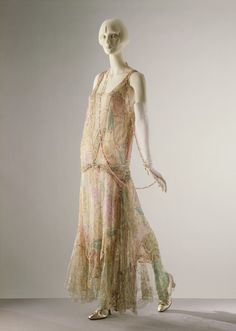 Dress  Callot Soeurs, 1922  The Victoria & Albert Museum