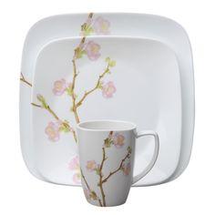 Corelle Impressions Camellia 16-Piece Dinnerware Set..always liked ...