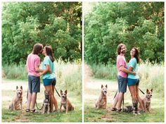 Including your dogs in your engagement session!  NWA Engagement photographer, Arkansas Engagement photos - nature-loving couple engagement photos, Dacy + Cody   Northwest Arkansas Engagement Session - Simply Bliss Photography Blog
