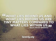 What lies behind...