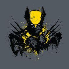 Mutant Rage T-Shirt $12.99 Wolverine tee at Pop Up Tee!