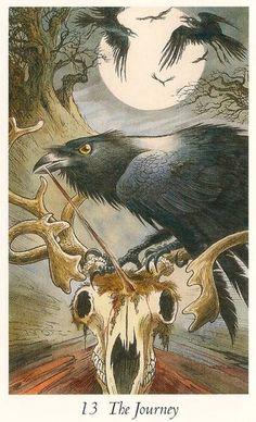 Wildwood Tarot - The Journey (Death) my favorite card