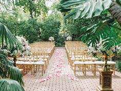 7 Creative Ways to Decorate Your Wedding Ceremony Aisle | Photo by: Dear Wesleyann | TheKnot.com