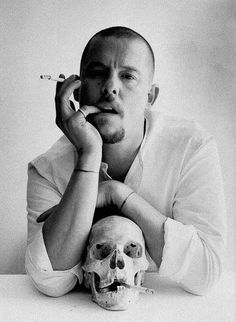 """""""I want to empower women. I want people to be afraid of the women I dress."""" - Alexander McQueen"""