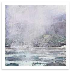 Rose Strang - Island Mist, Limited Edition Print, 50 x 50cm