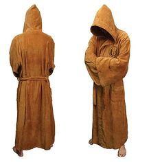 Star Wars Jedi Fleece Bathrobe - Robe Factory - Star Wars - Bed and Bath at Entertainment Earth