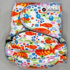 SALE Cloth Diaper Medium AI2 Wind Pro Koi Fish by LittleBoppers Cloth Baby  Wipes 7a4f050b7
