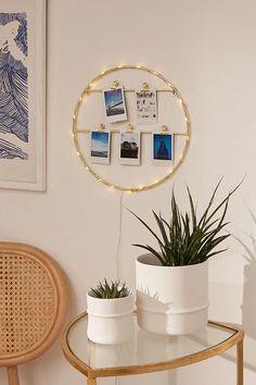 Light-Up Photo Clip Frame
