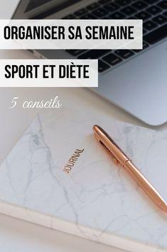 Mes conseils organisation pour une semaine sport et diète bien menée ! #organisation #blogfitness