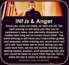 aren't going to forgive forever. We have enough integrity to walk away. But if you piss us off enough, I wish you a good recovery. Infj Traits, Intj And Infj, Infj Mbti, Infj Type, Enfj, Introvert, Libra, Infj Personality, Thing 1