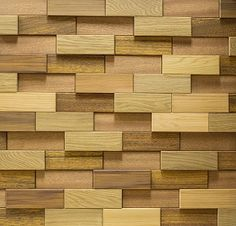 eco natural exotic wood pannel pattern for wall decoration Wood Mosaic, Mosaic Wall, Interior Walls, Home Interior, Wooden Cladding, Wood Parquet, Pallet Designs, 3d Wall Panels, Lobby Design