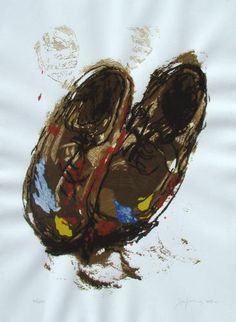 Jose Balmes Hiking Boots, Abstract, Sneakers, Painting, Shoes, Art History, Museums, Paintings, Hipster Stuff