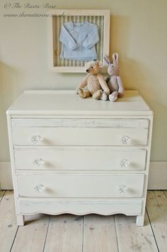 Chest Of Drawers With Gl Handles Shabby Home Chic