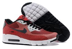 brand new 91b8e 7454a Come for Cheap Best Air Max 90 Jacquard Running Shoes Grey Red for Sale,  Get Air Max Tn Womens Shoes You Like