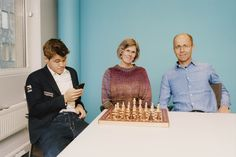When does it become clear that you are raising a new chess champion?