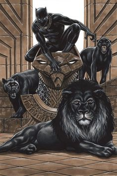 Panther No. 1 Cover Art Prints by Mark Brooks at : Black Panther No. 1 Cover Art Prints by Mark Brooks at : King of the Jungle Thoughts & Musings — Good morning 💜 Marvel Comic Book Artwork Black Panther Marvel, Marvel Comics, Marvel Art, Avengers Art, Cover Art, Wakanda Marvel, Fantasy Anime, Afrique Art, Black Art Pictures