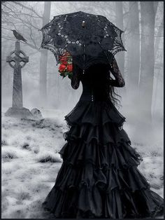 The Victorian Era.  I find this a little creepy, and a little beautiful.