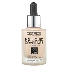 Catrice Make-up HD Liquid Coverage Foundation Rose Beige 20 x 150 grams) Best Drugstore Foundation, Best Foundation, Liquid Foundation, Foundation Shade, Drugstore Beauty, Powder Foundation, Makeup Foundation, Camouflage Concealer, Camouflage Makeup