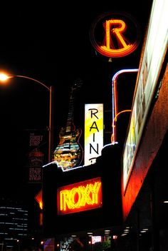 Sunset Strip - The ROXY is a great place to experience performances, up close and personal...LOVE IT!!!!!!!!!!