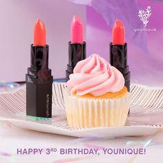 Happy 3rd Birthday Younique! Thanks to all our hard-working Presenters and loyal customers for helping us get this far! Double-tap if you love #Younique!