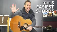 Top 5 Easiest and Most Used Guitar Chords