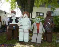 Lego Star Wars Homemade Halloween Costumes