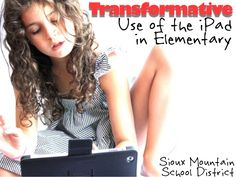 Use of iPads in elementary school