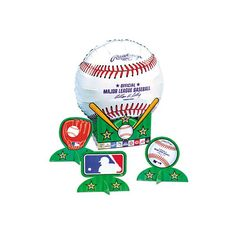 Major League Baseball Air Filled Balloon Centerpiece