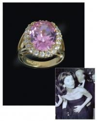 """Jacqueline """"Jackie"""" Kennedy Collection - The Kunzite Ring"""