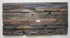 old ship wood mosaic wall panel - - Gimare (China Manufacturer) - Wall Tile - Brick & Tile Products - DIYTrade China manufacturers