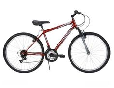 Huffy Men's Alpine Road Mountain Bike Metallic Brick Red 26 inch Comfort Durable | eBay