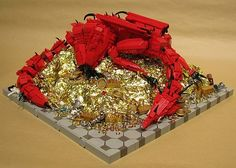 LEGO Dragon Smaug From The Hobbit | BAD HAVEN