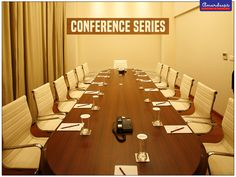 This #ConferenceSeries help businesses leave a long lasting impression on their client. #Chair #Furniture