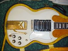 Les Paul's wife, Mary Ford's 1961 Gibson Les Paul Custom Guitar
