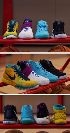 0ac6d4553637 Introducing the new Nike Kyrie 4. Learn about how the shoe is inspired by  the past and built for the future.  Nike  Kyrie4  basketball   basketballshoes