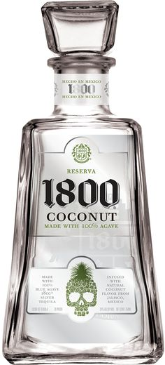 1800® Tequila   Coconut 50ml Favor Gift for Men Guest's.