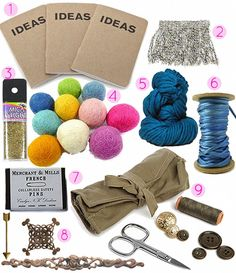 Gifts for your DIY friends and family! #gifts #diy