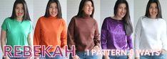Sonia Estep Designs Sewing Patterns, Shops, Sweatshirts, Sweaters, Shopping, Design, Fashion, Moda, Tents