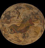 Globe céleste, J. Hondius, 1600 © DNP Dai Nippon Printing Co., Ltd. [2015]