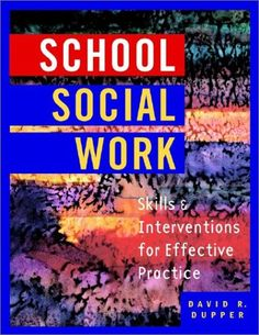 School Social Work def need this took!