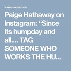"""Paige Hathaway on Instagram: """"Since its humpday and all.... TAG SOMEONE WHO WORKS THE HUMPS 🍑 Two 30lbs on shoulders (start with weight that is most comfortable to you)…"""""""