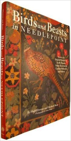 Birds And Beasts In Needlepoint  https://www.amazon.com/dp/0517574713?m=A1WRMR2UE5PIS8&ref_=v_sp_detail_page